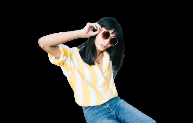 żółta koszula
